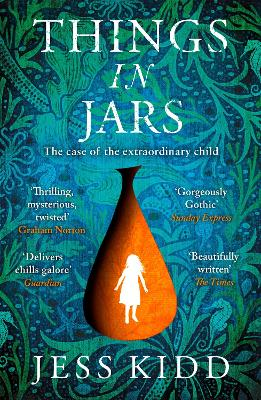 Book Cover for Things in Jars by Jess Kidd