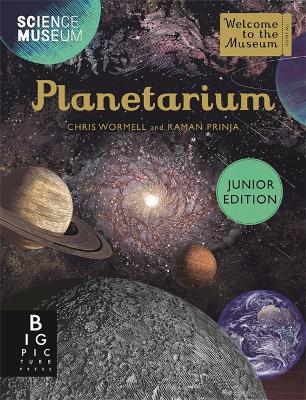 Book Cover for Planetarium Junior Edition by Raman Prinja