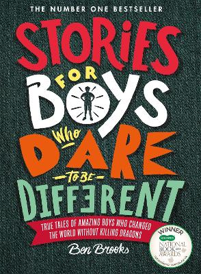 Cover for Stories for Boys Who Dare to be Different by Ben Brooks