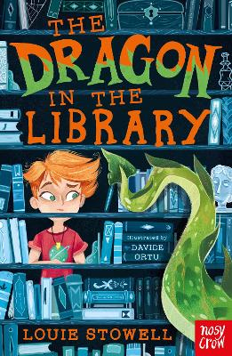Cover for The Dragon in the Library  by Louie Stowell