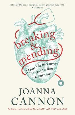 Cover for Breaking and Mending by Joanna Cannon