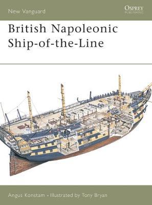 British Napoleonic Ship-of-the-line by Angus Konstam