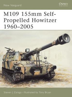 M109 155mm Self-propelled Howitzer by Steven Zaloga
