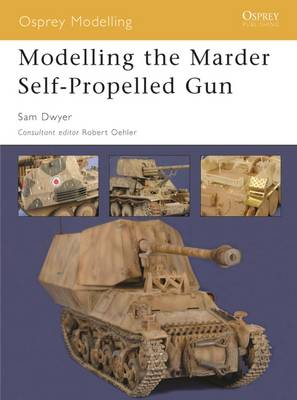 Modelling the Marder Self-Propelled Gun by Sam Dwyer