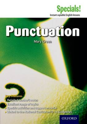 Secondary Specials!: English - Punctuation by Mary Green