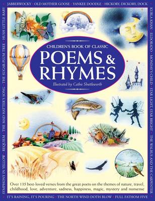 Children's Book Of Classic Poems & Rhymes by Nicola Baxter