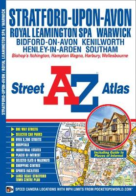 Stratford Upon Avon Street Atlas by Geographers' A-Z Map Company