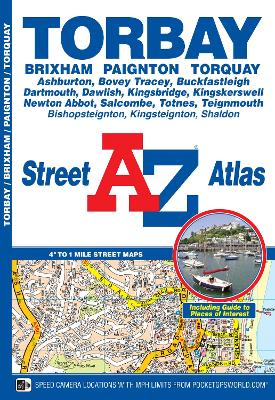 Torbay Street Atlas by Geographers' A-Z Map Company