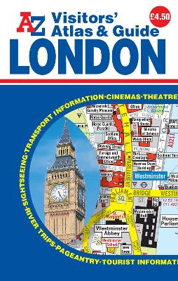 London Visitors Atlas & Guide by Geographers' A-Z Map Company