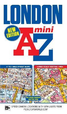 Mini London Street Atlas by Geographers' A-Z Map Company
