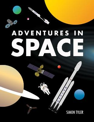 Cover for Adventures in Space by Simon Tyler