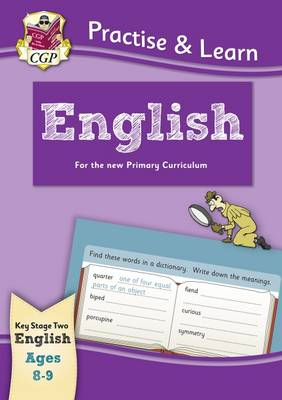 Practise & Learn: English (ages 8-9) by CGP Books