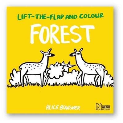 Lift-the-Flap and Colour Forest by Natural History Museum