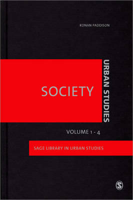Urban Studies - Society by Donald McNeill