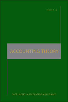 Accounting Theory by Harry I. Wolk