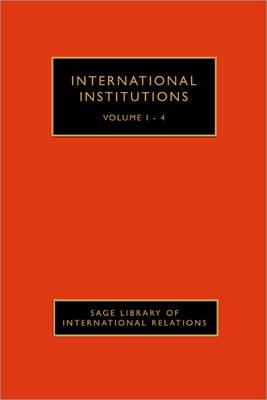 International Institutions by Judith L. Goldstein