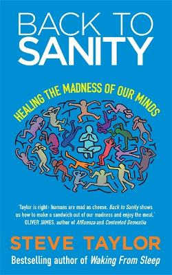 Back to Sanity Healing the Madness of Our Minds by Steve Taylor