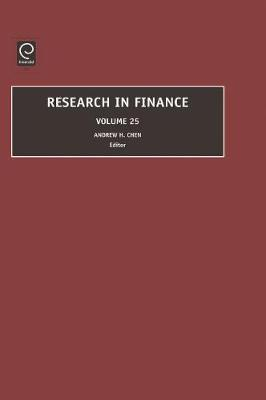 Research in Finance by Andrew H. Chen
