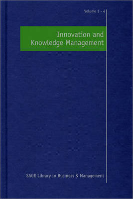Innovation and Knowledge Management by Neil Anderson