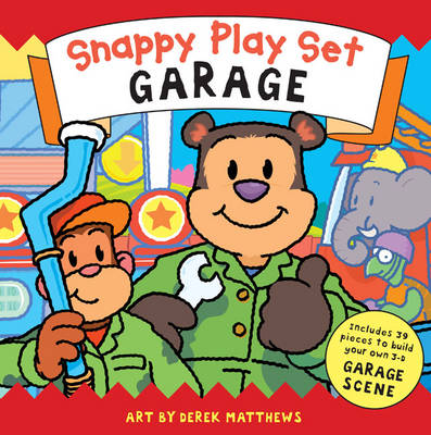 Snappy Playtime Garage Playset by Derek Matthews