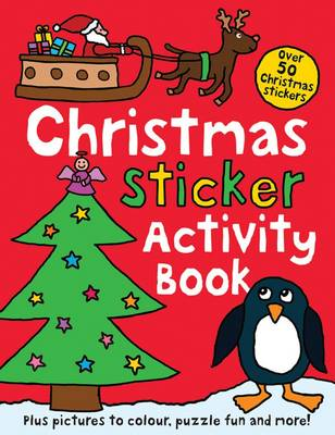 Christmas Sticker Activity Book by Roger Priddy