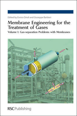 Membrane Engineering for the Treatment of Gases Volume 1: Gas-separation Problems with Membranes by Enrico (The Institute on Membrane Technology, National Research Council, Italy) Drioli