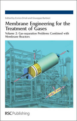 Membrane Engineering for the Treatment of Gases Volume 2: Gas-separation Problems Combined with Membrane Reactors by Enrico (The Institute on Membrane Technology, National Research Council, Italy) Drioli
