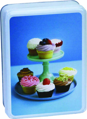 Lola Cupcakes Tinned Notecards by Paperstyle