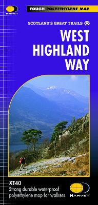 West Highland Way XT40 by Harvey Map Services Ltd.