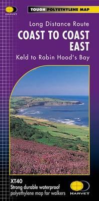 Coast to Coast East XT40 East Keld to Robin Hood's Bay by Harvey Map Services Ltd.