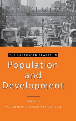 The Earthscan Reader in Population and Development by Paul Demeny