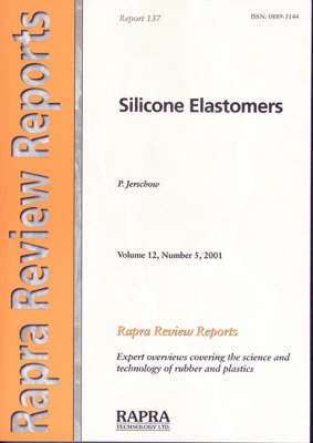 Silicone Elastomers by P. Jershow