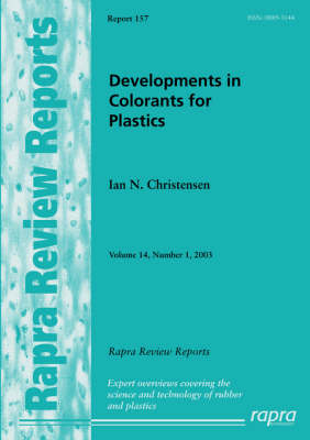 Developments in Colorants for Plastics by Ian Christensen