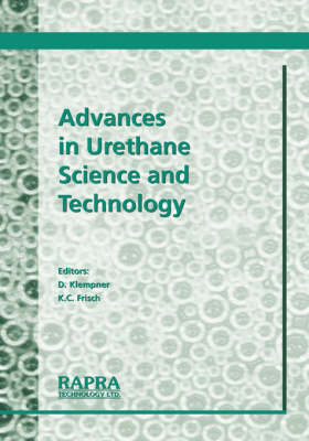 Advances in Urethane Science and Technology by Kurt C. Frisch