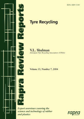 Tyre Recycling Report 175 by Valerie Shulman