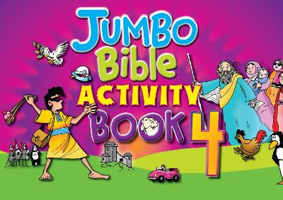 Jumbo Bible Activity Book 4 by Tim Dowley