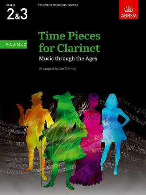 Time Pieces for Clarinet, Volume 2 Music through the Ages in 3 Volumes by