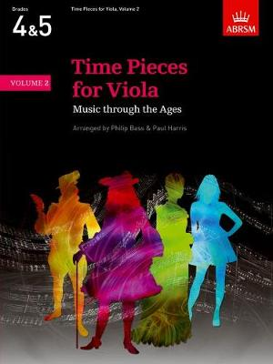 Time Pieces for Viola, Volume 2 Music through the Ages in Two Volumes by