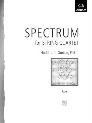 Spectrum for String Quartet, Score by ABRSM