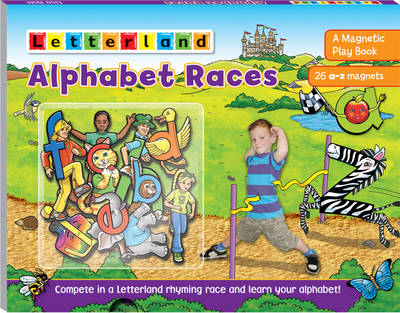 Alphabet Races A Magnetic Play Book by Lisa Holt