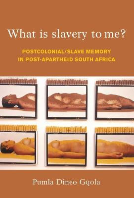 What is slavery to me? Postcolonial memory and the postapartheid imagination by Pumla Dineo Gqola