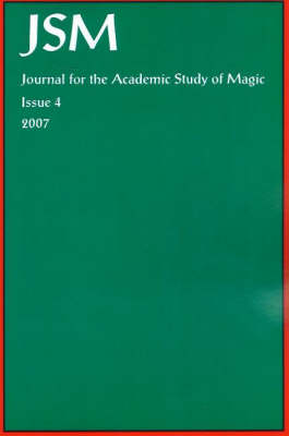 Journal for the Academic Study of Magic by A. Hale