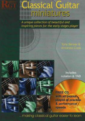 Classical Guitar Miniatures by Tony Skinner, Amanda Cook