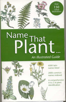 Name That Plant An Illustrated Guide by Martin Page
