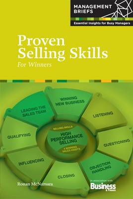 Proven Selling Skills For Winners by Ronan McNamara