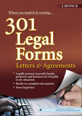 301 Legal Forms, Letters & Agreements by David Schmitz