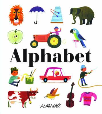 Alphabet by Alain Gree