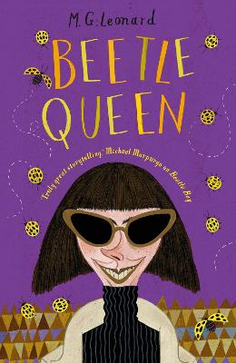 Cover for Beetle Queen by M.G. Leonard