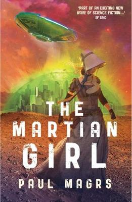 Cover for The Martian Girl by Paul Magrs