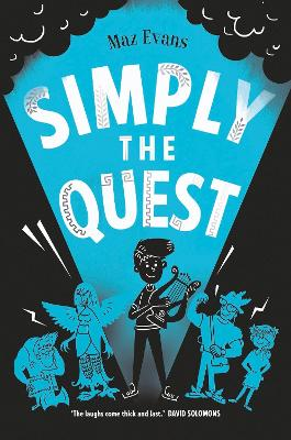 Cover for Simply the Quest by Maz Evans
